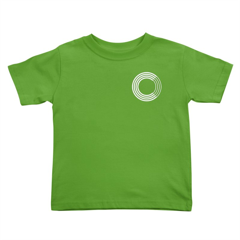 Chorus.fm White Logo (Breast) Kids Toddler T-Shirt by Chorus.fm Shop