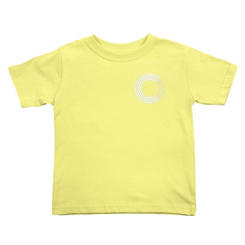 Chorus.fm White Logo (Breast) Kids Toddler T-Shirt by Chorus.fm Shop