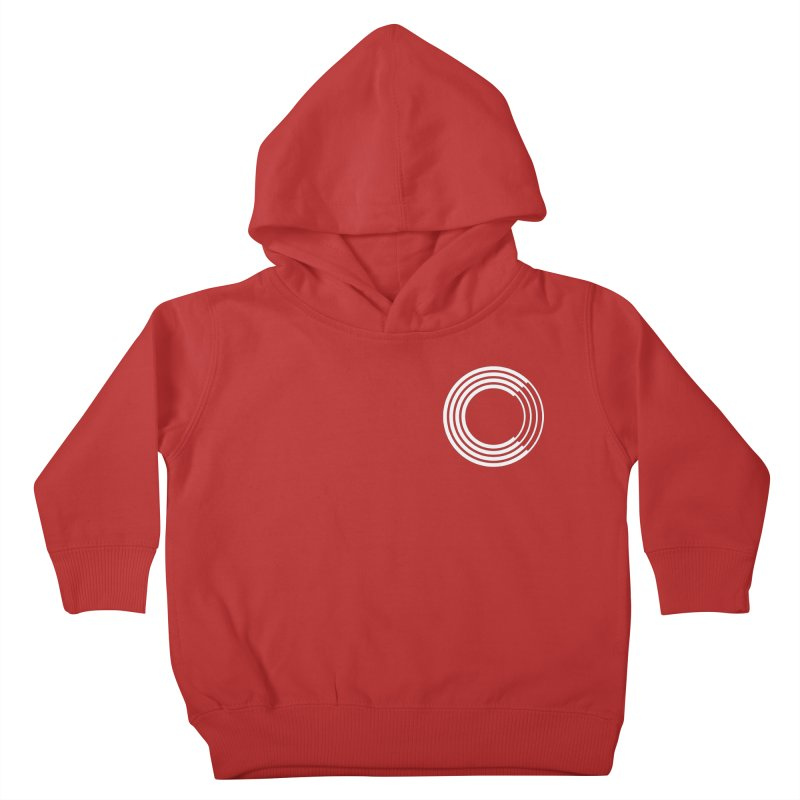 Chorus.fm White Logo (Breast) Kids Toddler Pullover Hoody by Chorus.fm Shop