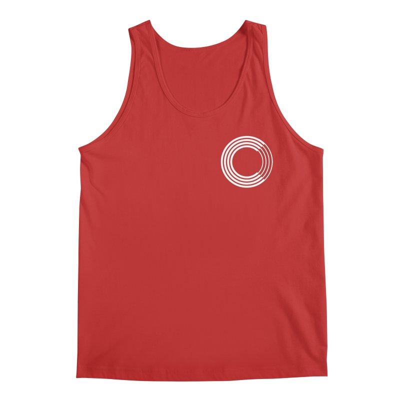 Chorus.fm White Logo (Breast) Men's Regular Tank by Chorus.fm Shop