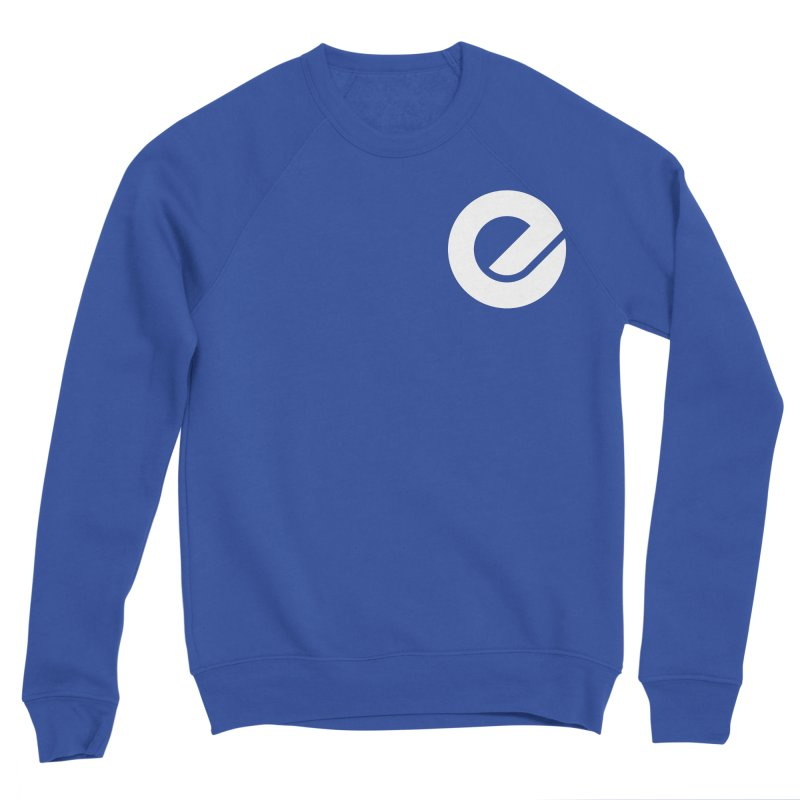 Encore Logo (Breast) Men's Sponge Fleece Sweatshirt by Chorus.fm Shop