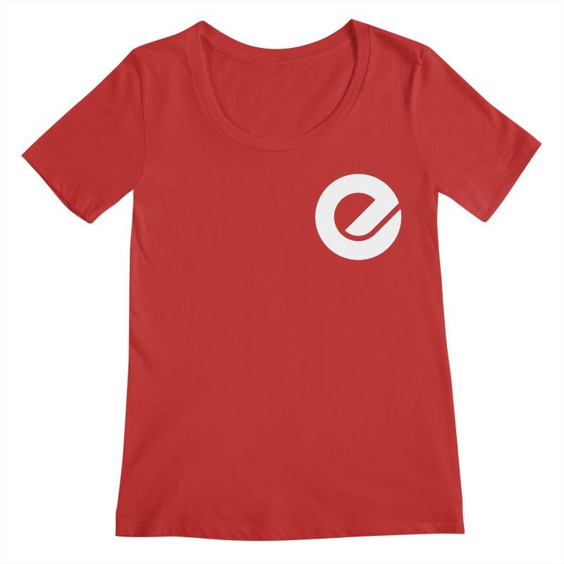 Encore Logo (Breast) Women's Regular Scoop Neck by Chorus.fm Shop