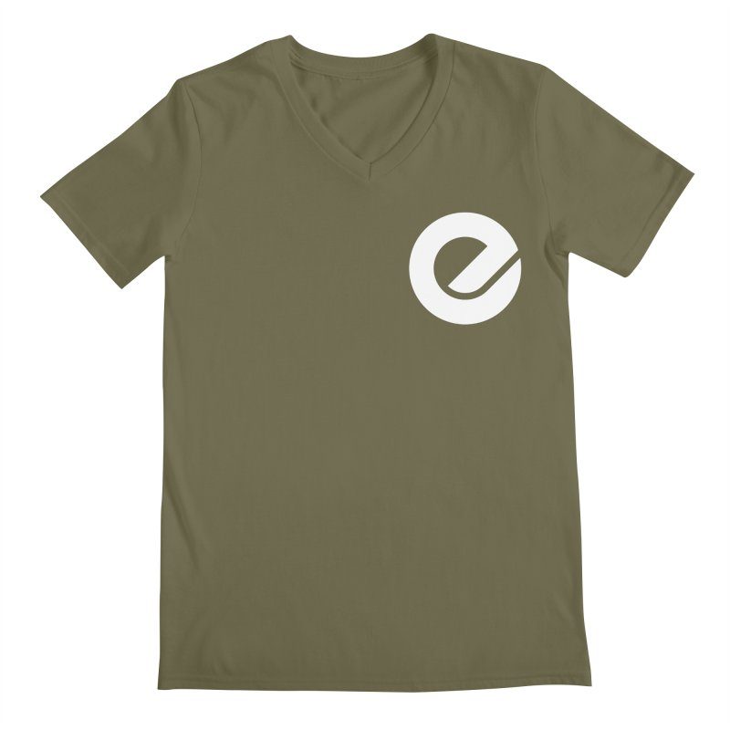 Encore Logo (Breast) Men's Regular V-Neck by Chorus.fm Shop