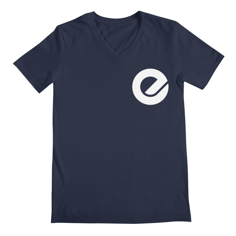 Encore Logo (Breast) Men's Regular V-Neck by Chorus.fm Shop