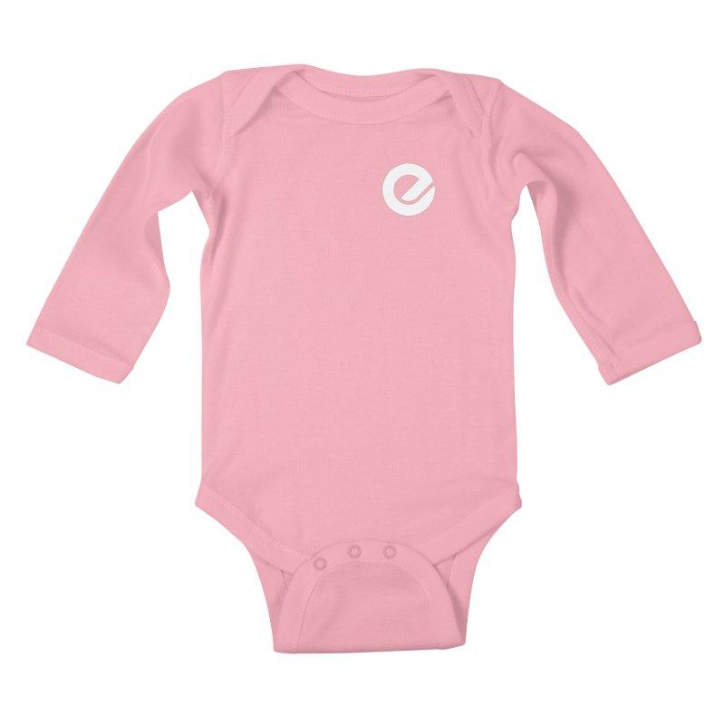 Encore Logo (Breast) Kids Baby Longsleeve Bodysuit by Chorus.fm Shop