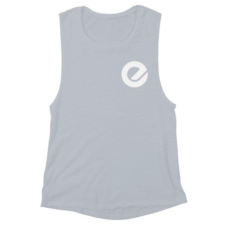 Encore Logo (Breast) Women's Muscle Tank by Chorus.fm Shop