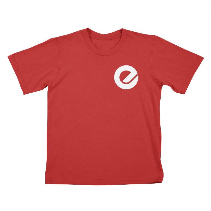 Encore Logo (Breast) Kids T-Shirt by Chorus.fm Shop