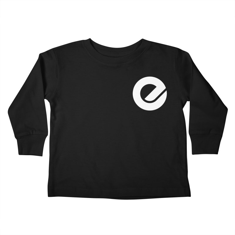 Encore Logo (Breast) Kids Toddler Longsleeve T-Shirt by Chorus.fm Shop