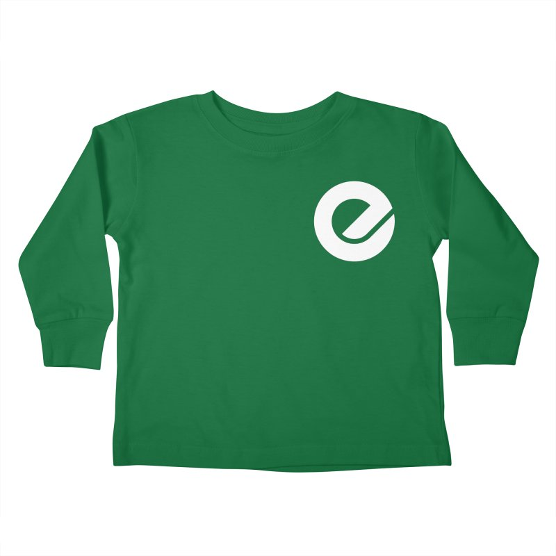 Encore Logo (Breast) Kids Toddler Longsleeve T-Shirt by Chorus.fm Shop