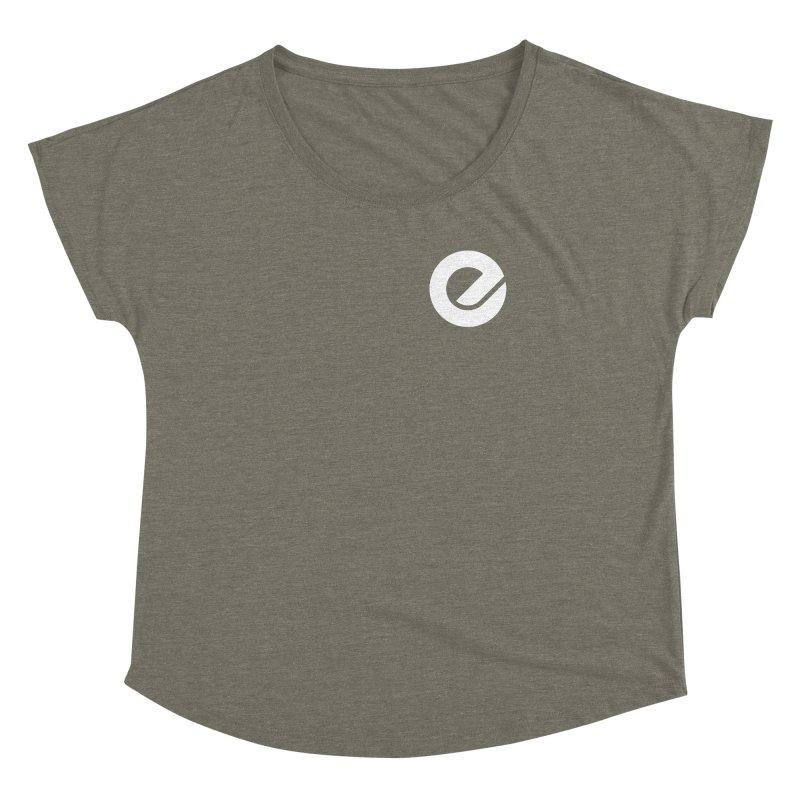 Encore Logo (Breast) Women's Dolman Scoop Neck by Chorus.fm Shop
