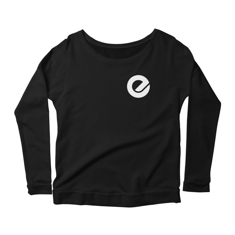Encore Logo (Breast) Women's Scoop Neck Longsleeve T-Shirt by Chorus.fm Shop