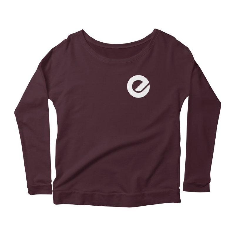 Encore Logo (Breast) Women's Scoop Neck Longsleeve T-Shirt by Chorus.fm Shop
