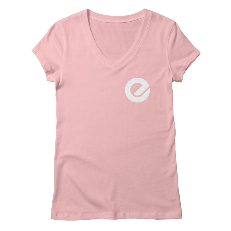 Encore Logo (Breast) Women's Regular V-Neck by Chorus.fm Shop