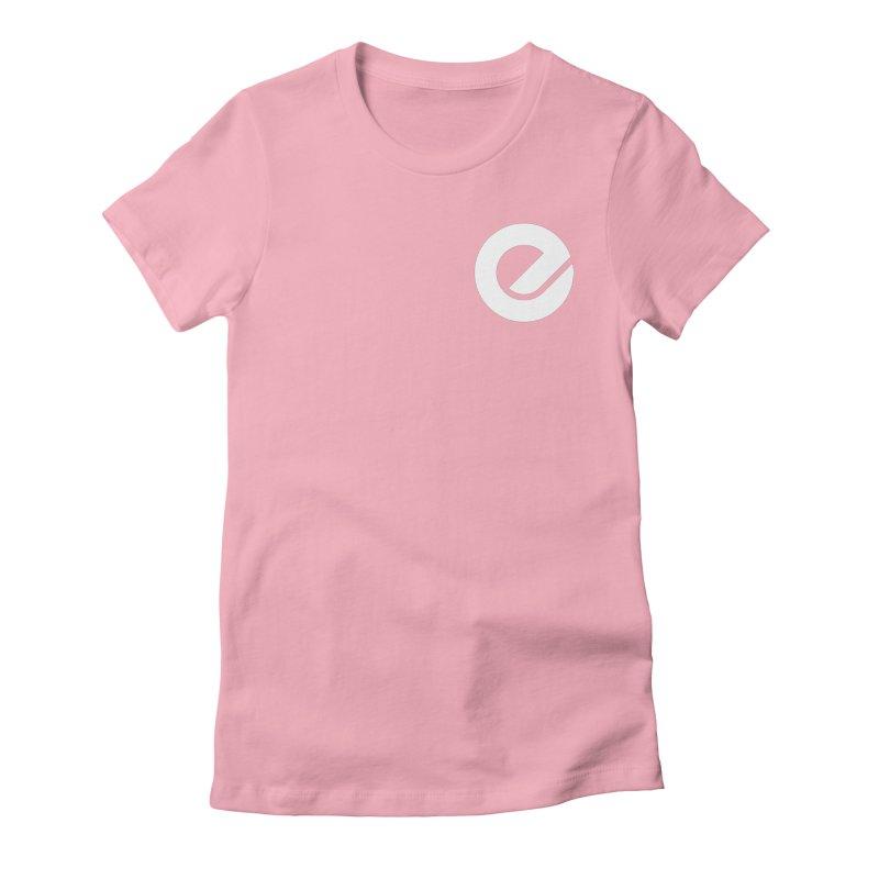 Encore Logo (Breast) Women's Fitted T-Shirt by Chorus.fm Shop