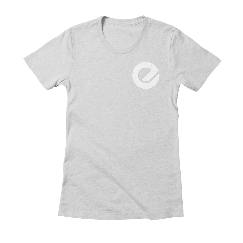 Encore Logo (Breast) Women's Fitted T-Shirt by Chorus.fm Shop
