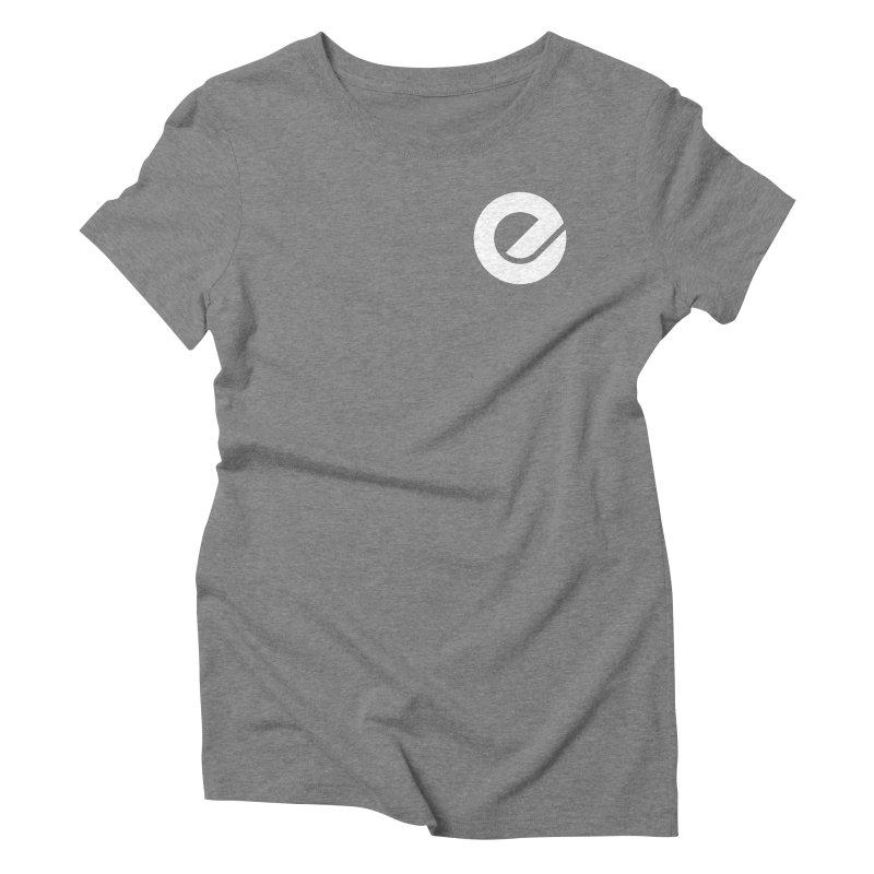 Encore Logo (Breast) Women's Triblend T-Shirt by Chorus.fm Shop