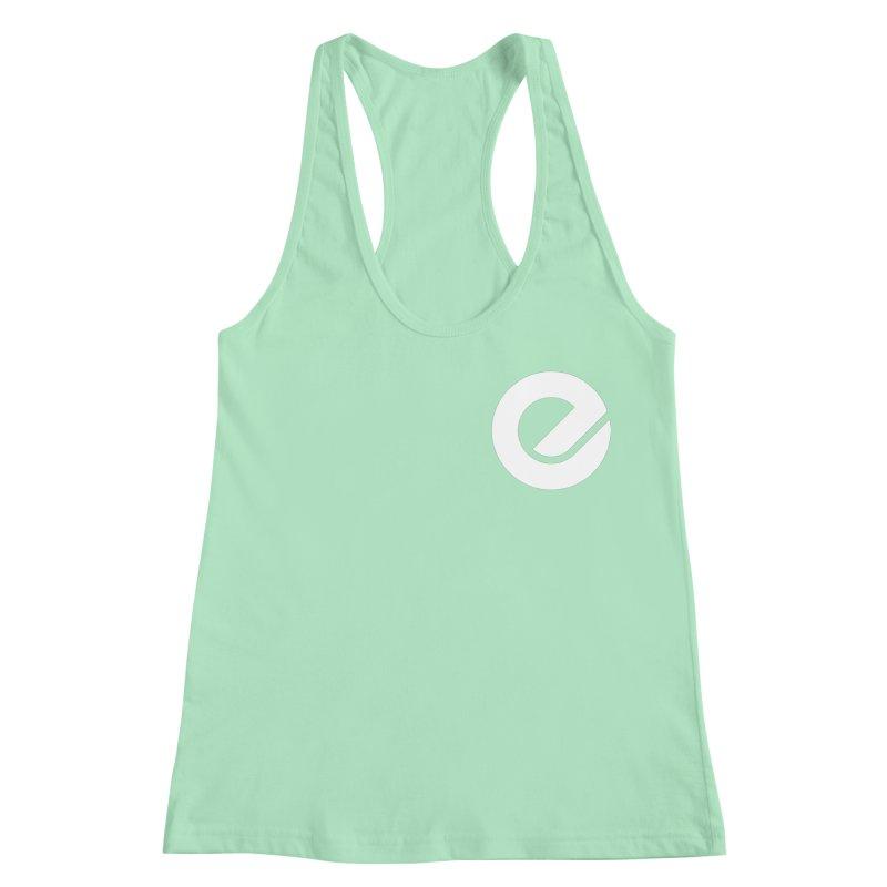 Encore Logo (Breast) Women's Racerback Tank by Chorus.fm Shop