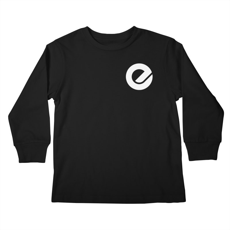 Encore Logo (Breast) Kids Longsleeve T-Shirt by Chorus.fm Shop