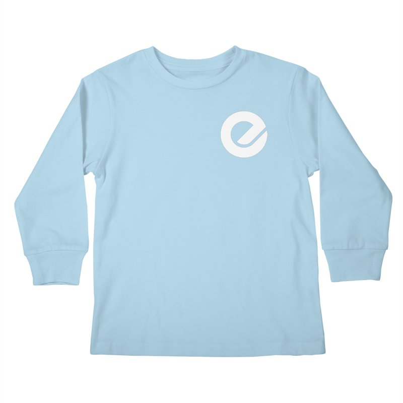 Encore Logo (Breast) Kids Longsleeve T-Shirt by Chorus.fm Shop