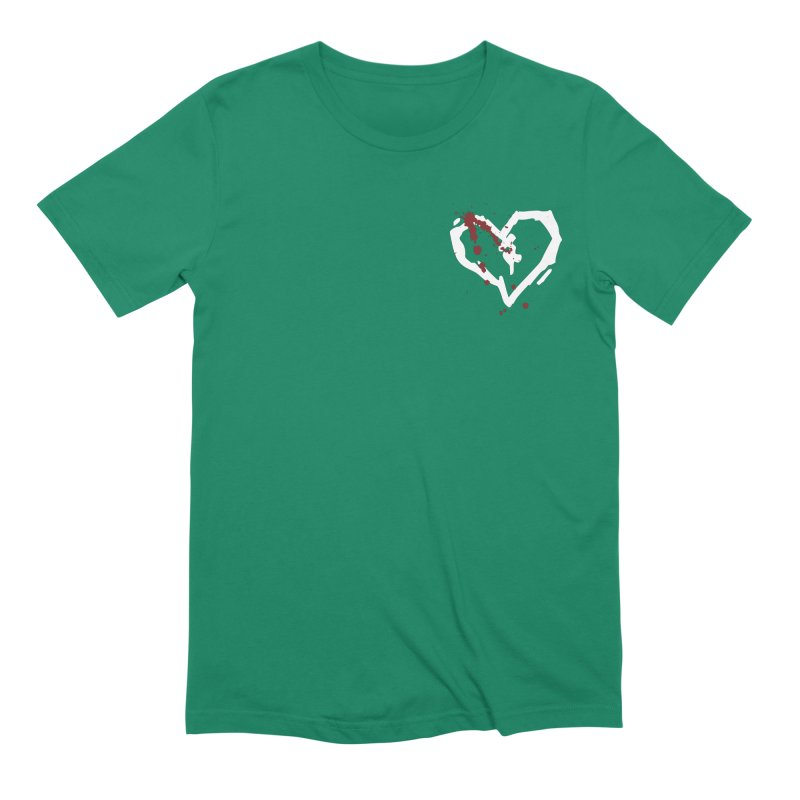 AbsolutePunk.net White Logo (Breast) Men's Extra Soft T-Shirt by Chorus.fm Shop