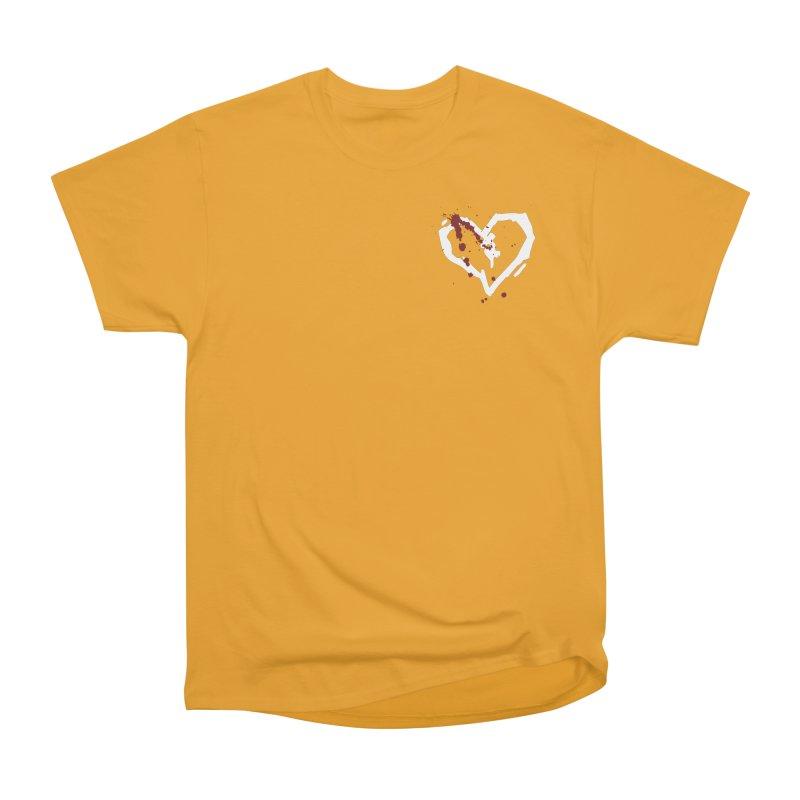 AbsolutePunk.net White Logo (Breast) Women's Heavyweight Unisex T-Shirt by Chorus.fm Shop