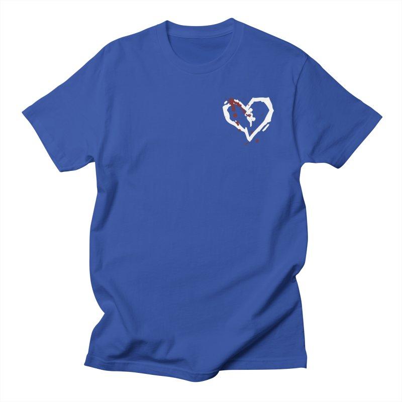 AbsolutePunk.net White Logo (Breast) Men's Regular T-Shirt by Chorus.fm Shop