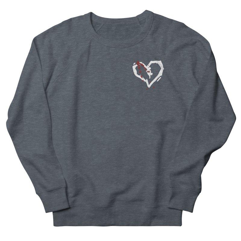 AbsolutePunk.net White Logo (Breast) Men's French Terry Sweatshirt by Chorus.fm Shop