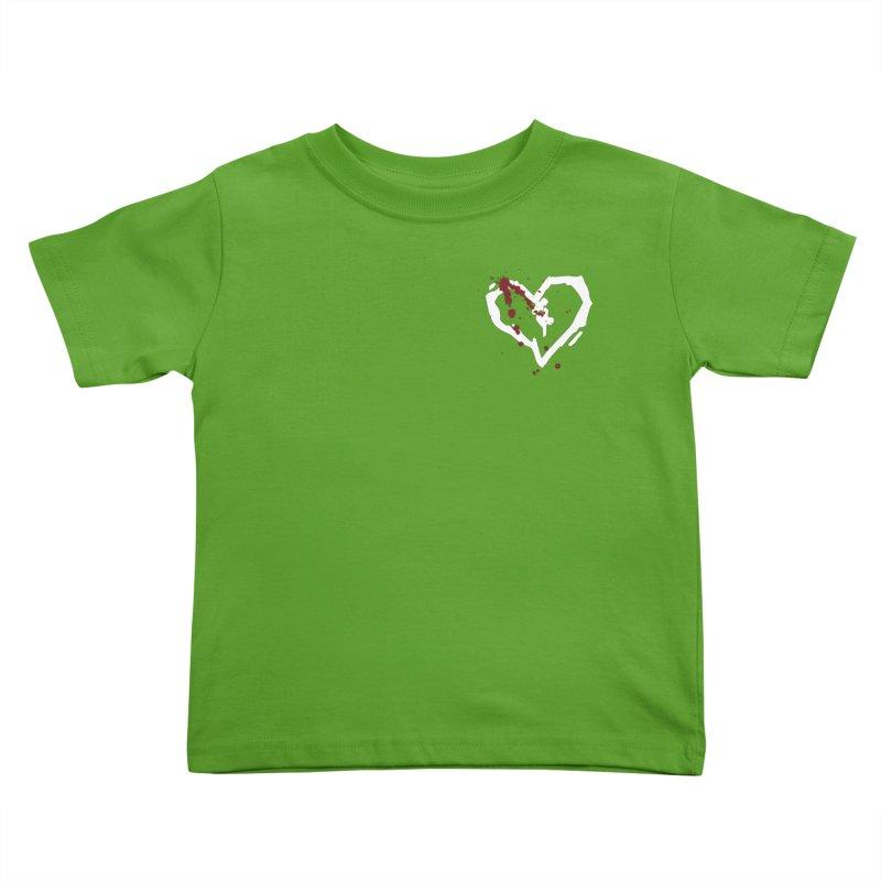 AbsolutePunk.net White Logo (Breast) Kids Toddler T-Shirt by Chorus.fm Shop