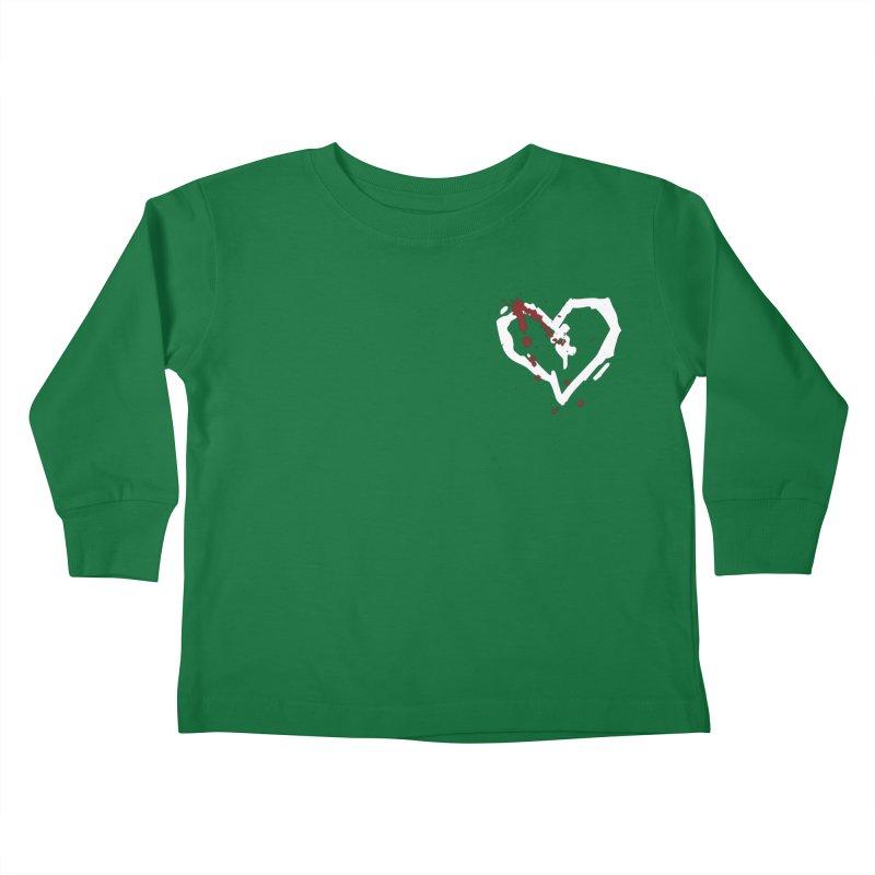 AbsolutePunk.net White Logo (Breast) Kids Toddler Longsleeve T-Shirt by Chorus.fm Shop