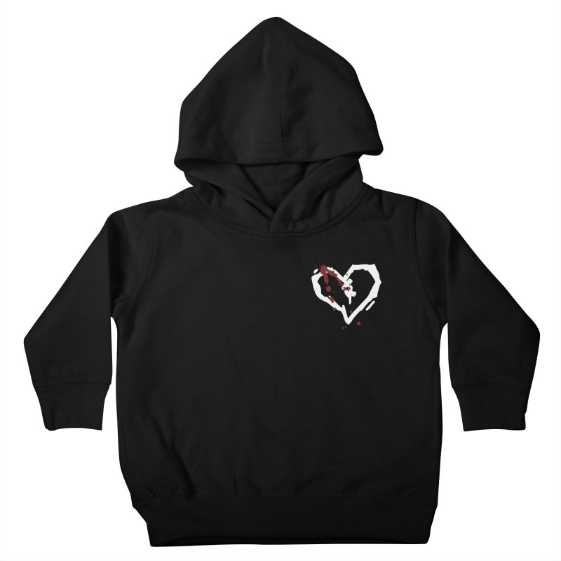 AbsolutePunk.net White Logo (Breast) Kids Toddler Pullover Hoody by Chorus.fm Shop