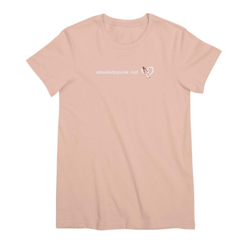 AbsolutePunk.net Text Logo (Centered) Women's Premium T-Shirt by Chorus.fm Shop