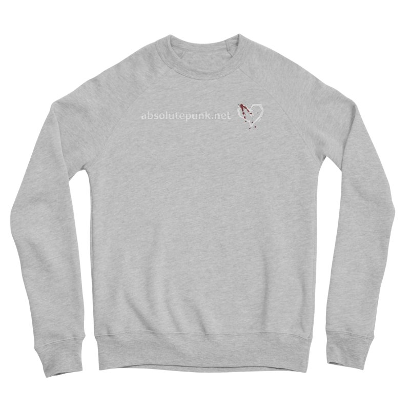 AbsolutePunk.net Text Logo (Centered) Men's Sponge Fleece Sweatshirt by Chorus.fm Shop