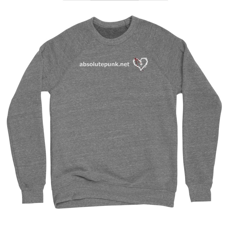 AbsolutePunk.net Text Logo (Centered) Women's Sponge Fleece Sweatshirt by Chorus.fm Shop