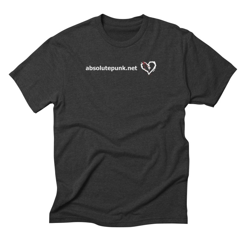AbsolutePunk.net Text Logo (Centered) in Men's Triblend T-Shirt Heather Onyx by Chorus.fm Shop