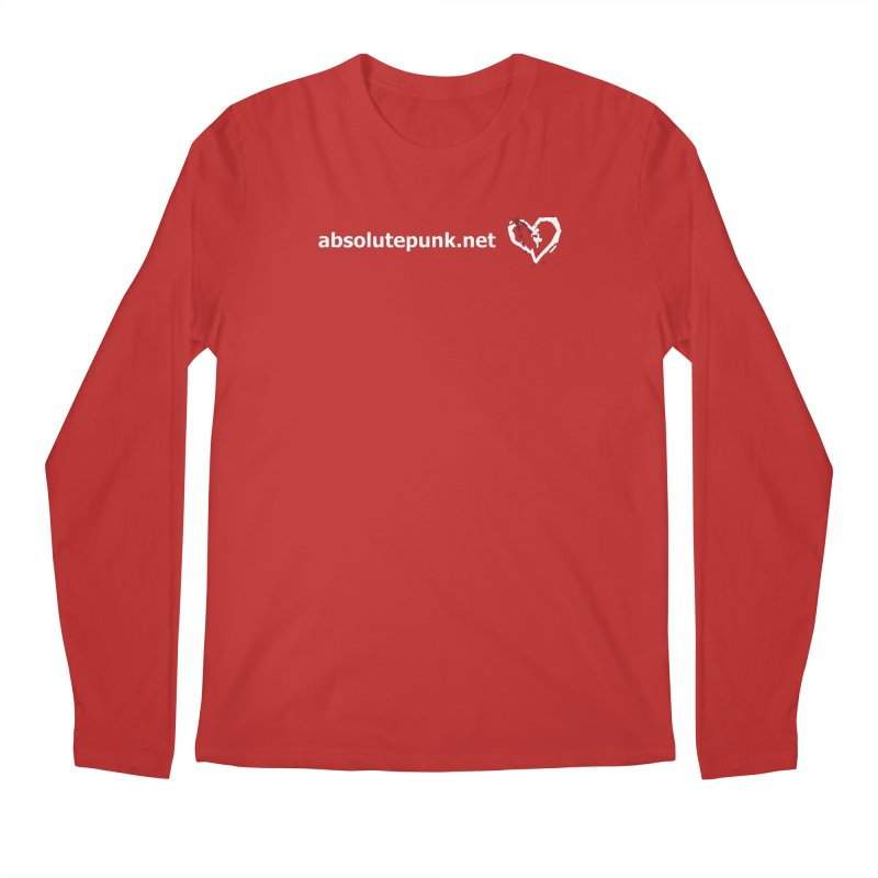 AbsolutePunk.net Text Logo (Centered) Men's Regular Longsleeve T-Shirt by Chorus.fm Shop