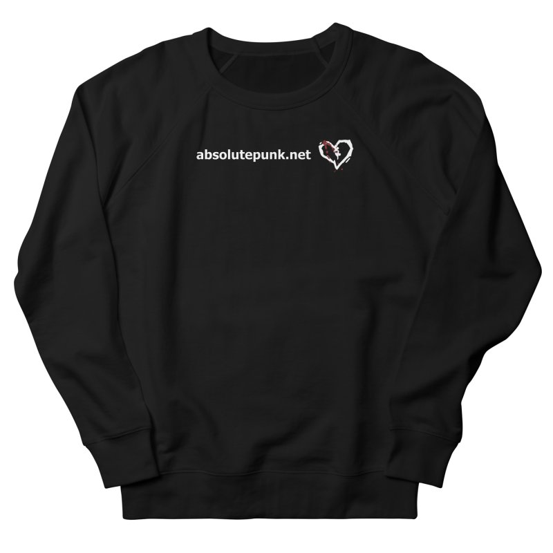 AbsolutePunk.net Text Logo (Centered) Women's French Terry Sweatshirt by Chorus.fm Shop