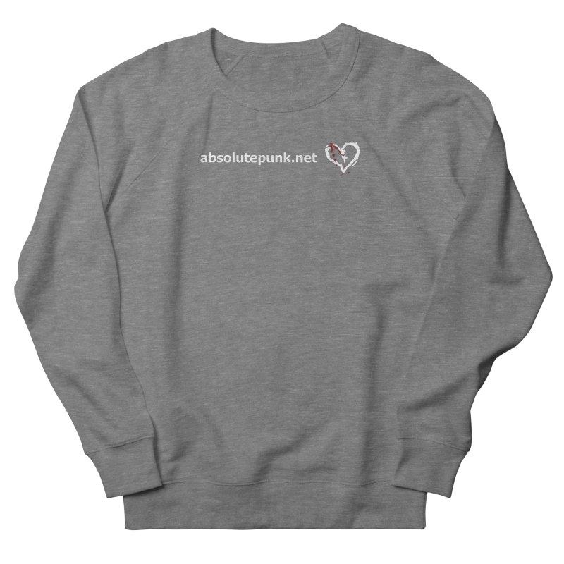 AbsolutePunk.net Text Logo (Centered) Men's French Terry Sweatshirt by Chorus.fm Shop