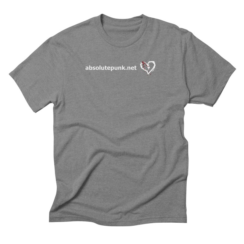 AbsolutePunk.net Text Logo (Centered) Men's Triblend T-Shirt by Chorus.fm Shop