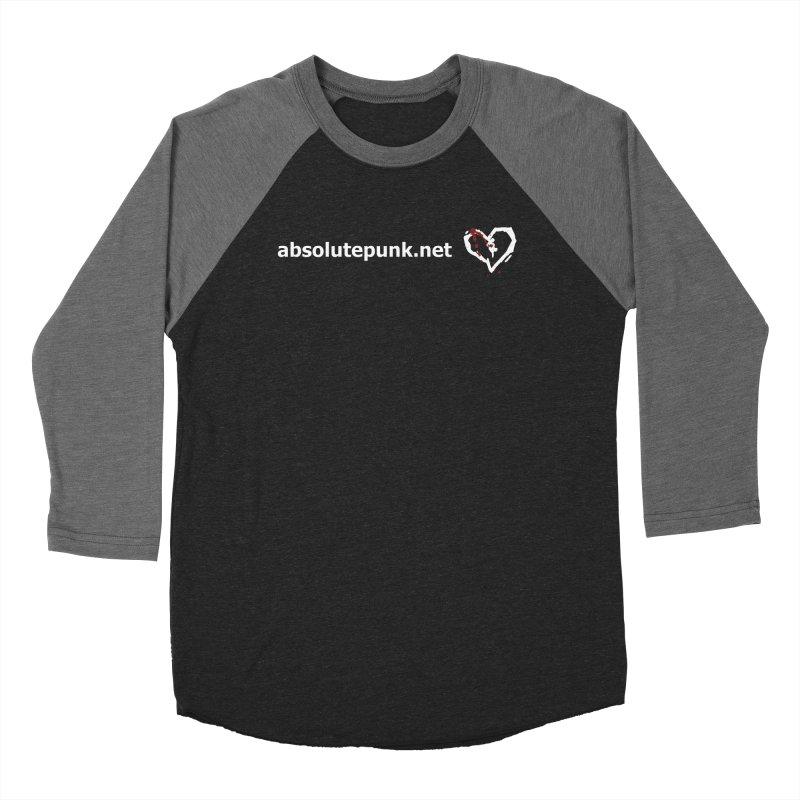 AbsolutePunk.net Text Logo (Centered) Women's Baseball Triblend Longsleeve T-Shirt by Chorus.fm Shop
