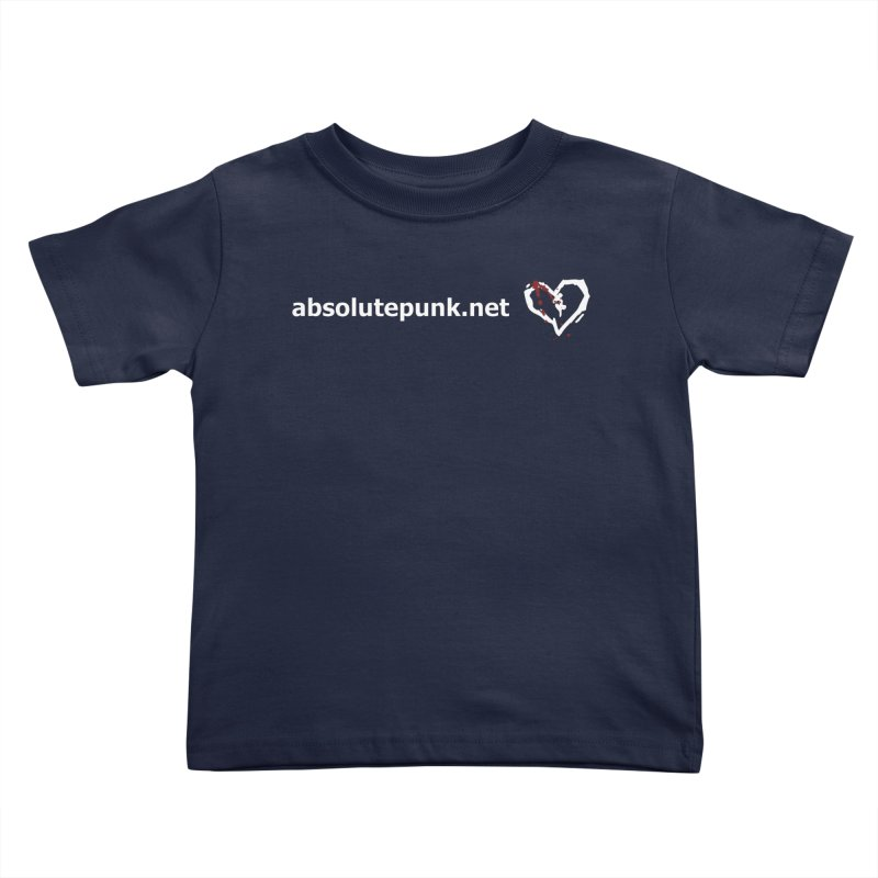 AbsolutePunk.net Text Logo (Centered) Kids Toddler T-Shirt by Chorus.fm Shop
