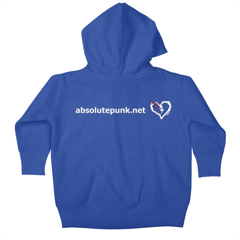 AbsolutePunk.net Text Logo (Centered) Kids Baby Zip-Up Hoody by Chorus.fm Shop