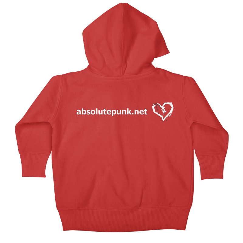 AbsolutePunk.net Text Logo (Centered) Kids Baby Zip-Up Hoody by Chorus.fm Shop