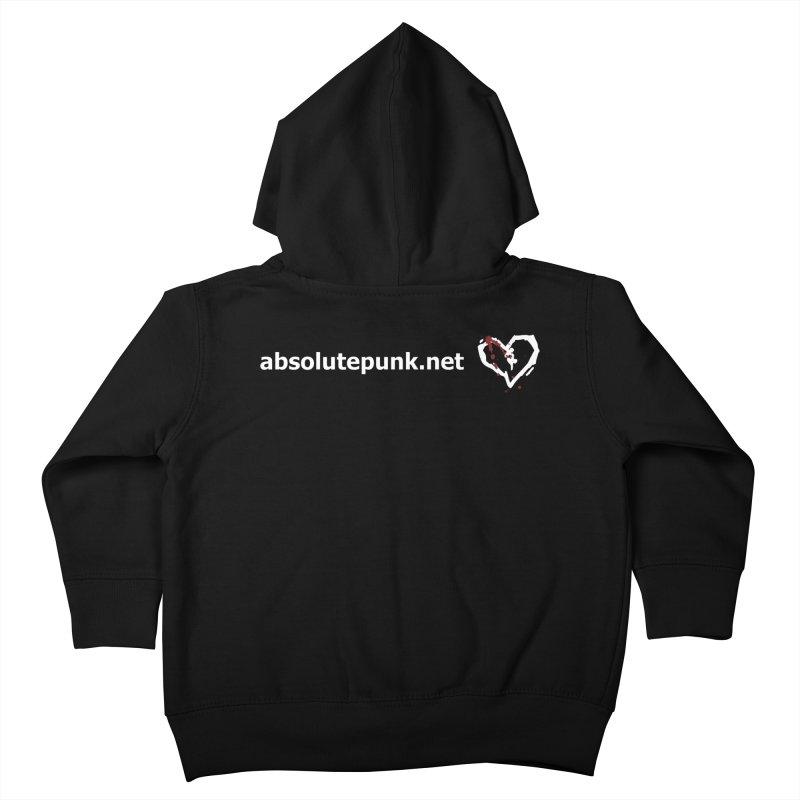 AbsolutePunk.net Text Logo (Centered) Kids Toddler Zip-Up Hoody by Chorus.fm Shop
