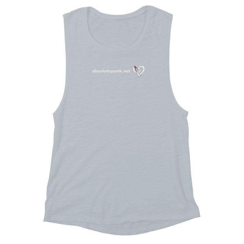 AbsolutePunk.net Text Logo (Centered) Women's Muscle Tank by Chorus.fm Shop