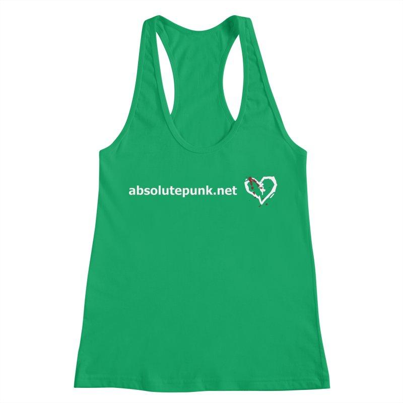 AbsolutePunk.net Text Logo (Centered) Women's Racerback Tank by Chorus.fm Shop