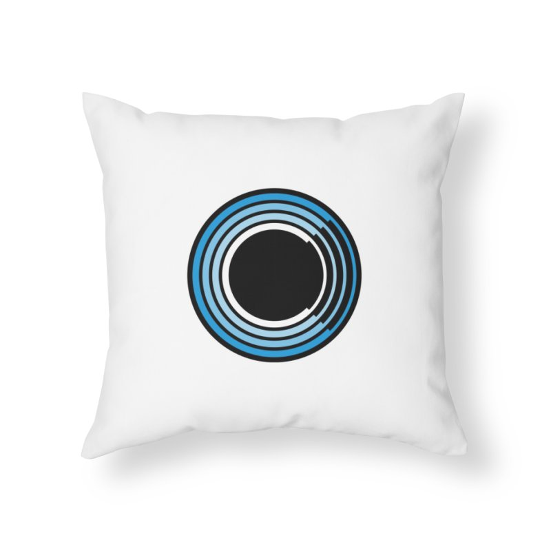 Chorus.fm Logo (White Products) Home Throw Pillow by Chorus.fm Shop