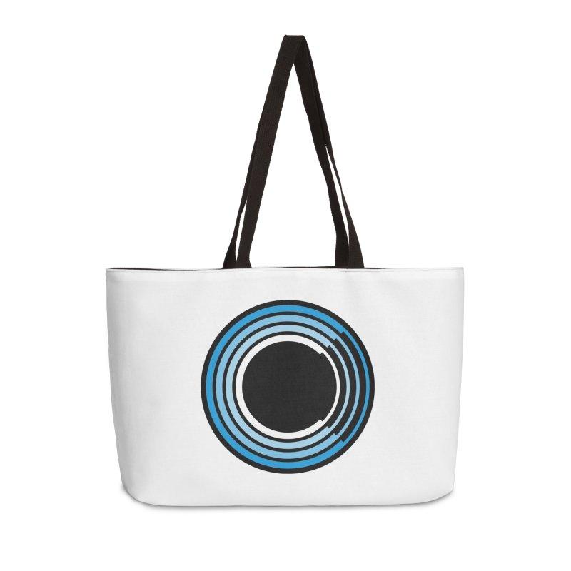 Chorus.fm Logo (White Products) Accessories Weekender Bag Bag by Chorus.fm Shop