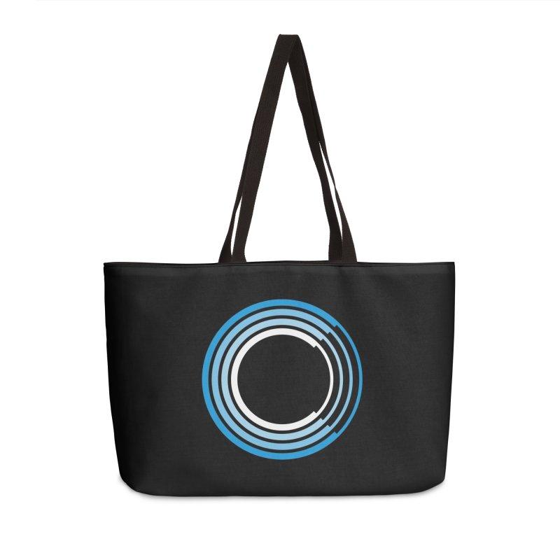 Chorus.fm Logo (Black Products) Accessories Weekender Bag Bag by Chorus.fm Shop