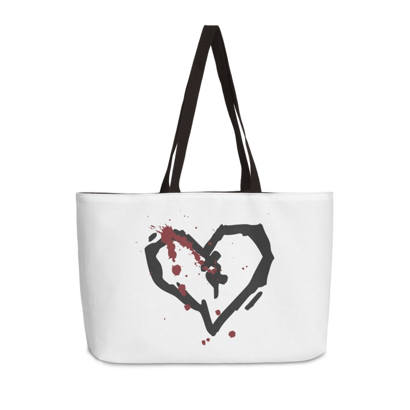 AbsolutePunk.net Logo (White Products) Accessories Weekender Bag Bag by Chorus.fm Shop