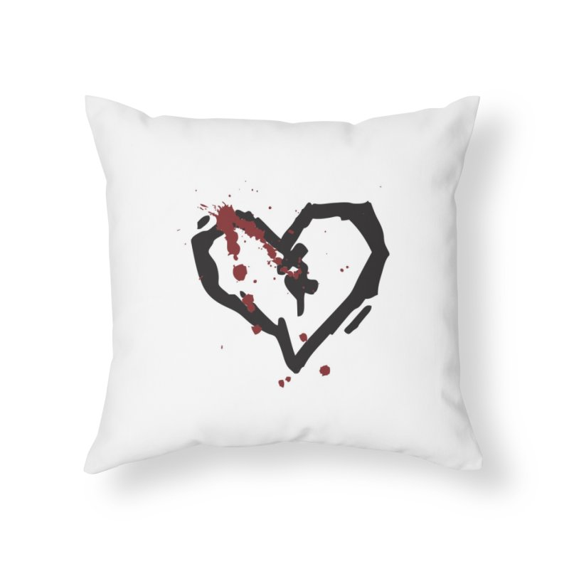 AbsolutePunk.net Logo (White Products) Home Throw Pillow by Chorus.fm Shop